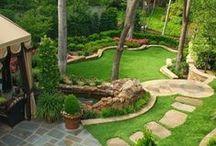 Jardins design / Envie d'un jardin design et moderne ? Venez trouver l'inspiration !