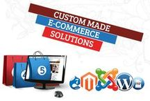 Custom Ecommerce Website / Evince Development is an experienced Ecommerce website design and development company that provides custom e-commerce development, magento development, php development, mobile application and other e-commerce solutions. An excellent website is a pillar of a strong online business. As for offline business, people use printed business cards, brochures in the same way an e-commerce website is the mirror of any business. http://www.evincedev.com/custom-e-commerce-development