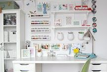 Tips for an Organized Workspace / Having an organized workspace it's a great way to eradicate distractions, to focus and to facilitate the creation process. Get organized and boost your productivity.