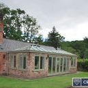 Case Study: Banks-Malpas, Extension / We designed a twin podded Orangery to be more in keeping with this elegant property, giving extra space with added thermal values. The results are stunning and the Customer is highly delighted with our attention to detail and project management skills.