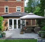 Case Study: Roberts, Extension / A bespoke side and rear extension was individually designed involving the removal of the external corner of the house, as well as the side and back walls, in order to create an uninterrupted living space.