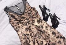 Платье с коротким