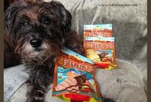 Product Reviews / All kinds of products for dogs and their owners.  My favorite products are the treats!