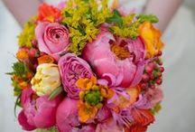 Summer Wedding Flowers / beautiful summer blooms
