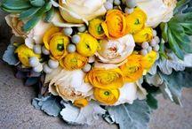 Wedding Colours: yellows