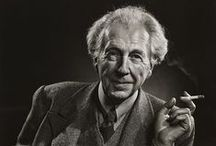 "FRANK LLOYD WRIGHT / ""Every great architect....must be a great original interpreter of his time, his day, his age"""