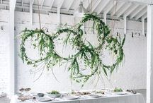 Foliage wedding inspiration / Lush greenery can look amazing for a natural, relaxed wedding when it's done with imagination and the best quality foliage as these inspiration images show!