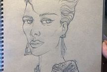 My illustration / Joseph Choi Fashion Illustration and sketch
