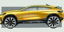 Automotive Sketches / Automotive and Transport Design Sketches / Renders