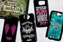 Phone & iPad Cases / Cases for your iPad, iPhone, HTC One, Samsung Galaxy, and Samsung Note. / by Country Girl