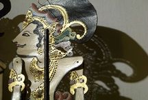 wonderful wayang / UNESCO has designated wayang kulit as a Masterpiece of Oral and Intangible Heritage of Humanity. Indeed it is. It's my favourite, however, other forms of wayang are represented here too.