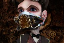 Steampunk - Art / Steampunk or steampunk-inspiring art. / by Steamworks & Shadows