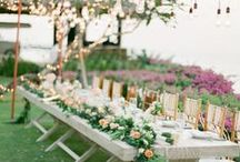 Wedding reception set up ideas