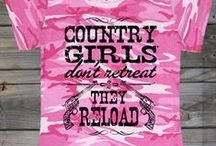 Tees / Shop from our line of Country Girl Tees / by Country Girl