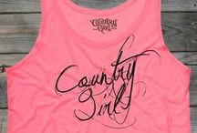 Spring Fling / New Country Girl tops