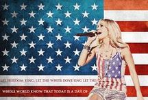 She Was an American Girl / We got you covered for the 4th of July or to just show off your American pride!  / by Country Girl
