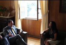 Accordo Minas Gerais / Accordo con Segrteria della Cultura dello Stato del Minas Gerais, Federico e Juliana ed il nostro ufficio a Belo Horizonte.