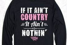 Country Girl Long Sleeve Tees / by Country Girl