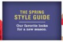Spring 2015 Looks / Discover our newest looks for Spring 2015  / by Orvis