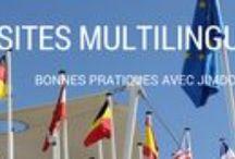 Jimdo : sites multilingues / Multilingual Jimdo sites