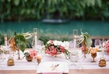 Flowers, centrepieces, decor