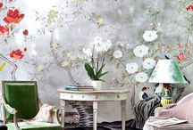 "Wall Decor / How gorgeous are these walls?To pin on our group board follow our board & send an ADD ME comment to the pin on the ""Join Board"". Specify the board you'd like to join!"
