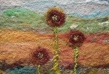 "Textile Art / Gorgeous textile art... To pin on our group board follow our board & send an ADD ME comment to the pin on the ""Join Board"". Specify the board you'd like to join!"