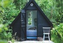 Outdoor Buildings We Love / Creative sheds/summerhouses and other outdoor buildings.