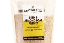 Seed & Almond Loaf / Serving suggestions for Banting Blvd's Seed & Almond Loaf premix.     Please note: this collection of recipes is intended for inspiration. Some recipes do not use LCHF appropriate breads or ingredients. Please substitute where necessary.