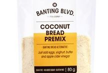 Coconut Bread / Serving suggestions for Banting Blvd's Coconut Bread premix. Please note: this collection of recipes is intended for inspiration. Some recipes do not use LCHF appropriate breads or ingredients. Please substitute where necessary.