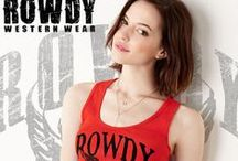 Rowdy Western Womens Wear / Western wear with attitude  / by Country Girl