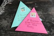 Umschläge / gestalltete Briefumschläge, snailmail, happymail, mailart