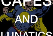Capes and Lunatics Podcast / Genre fiction of all types, media, and producers discussed, disected, and delivered fresh to you by our expert team.