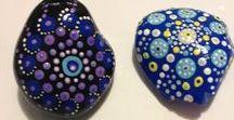 Hand-Painted Mandala Stones