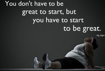 Health and Fitness <3 / Getting some motivation from Pinterest :D / by Tashneen Kadir