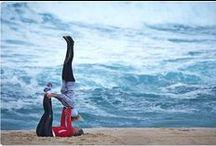 Yoga / Yoga poses, Hatha yoga, Power yoga, Ashtanga vinyasa yoga, Bikram yoga, Iyengar yoga, Acro-yoga, Aerial yoga, and quotes.