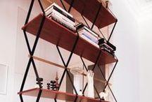 . shelves