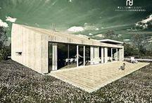 conceptHOUSE << C >> / Kategoria: ARCHITEKTURA MIESZKANIOWA, DOM JEDNORODZINNY. Rok:2008. Lokalizacja: Okolice Nowogrodu. Pu: ok. 258 m2