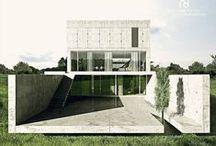 conceptHOUSE << F >> / Kategoria: ARCHITEKTURA MIESZKANIOWA, DOM JEDNORODZINNY. Rok:2009. Lokalizacja:Okolice Rybna. Pu:ok. 165 m2