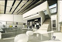 interiorDESIGN<< Dom z antresolą >> / ARCHITEKTURA WNĘTRZ, PROJEKT WNĘTRZA BUD. JEDNORODZINNEGO. Rok:2012. Lokalizacja:Kownaty. Pu:412 m2