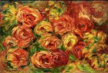 """Pierre-Auguste Renoir / (1841 – 1919) French artist who was a leading painter in the development of the Impressionist style. As a celebrator of beauty, and especially feminine sensuality, it has been said that """"Renoir is the final representative of a tradition which runs directly from Rubens to Watteau."""""""