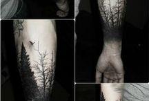 Tattoos / A few ideas for a sleeve, just stuff I like
