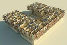 Personal work / Architecture, interior design, urbanism, furniture design