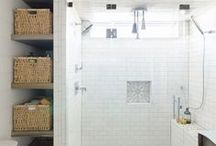 Bathroom Inspiration | Bathroom Decor + Bathroom Remodel Ideas / Bathroom Inspiration, Bathroom decor ideas, Bathroom paint colors, bathroom remodel ideas, bathroom design, bathroom cabinets, bathroom organization, bathroom colors, bathroom colors for walls, bathroom linen closet ideas, linen closet