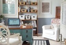 Home Office & Craft Room Inspiration | Craft Room Decor + Home Office Ideas / Inspiration for your home office, Craft Room Ideas, craft room storage, craft room decor, craft room ideas, craft room decor, craft room organization ideas, home office, home office decor, home office organization, home office furniture, home office ideas, home office ideas for women, work at home moms, home office design, office decorating ideas, home business, office decorating, office decor, office ideas