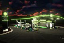 ARH gas station