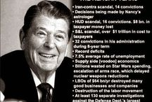 1980's /Reagan / by Gloria Davis