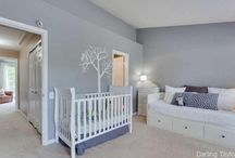 Boys & Girls Shared Bedrooms / Shared spaces for boys and girls.