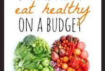Healthy Eating on a Budget / Eating healthy on a budget.   #meals #eating #budget