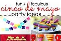 Cinco de Mayo / Cinco de Mayo party ideas, tips and recipes!  #cincodemayo